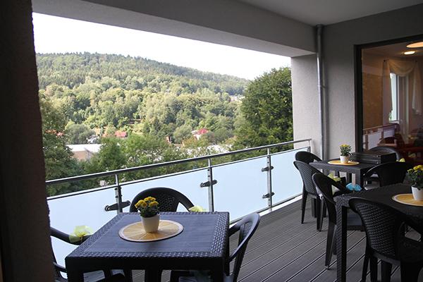 Balkon der WG
